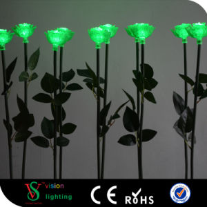 Christmas Decoration Waterproof LED Rose Light pictures & photos