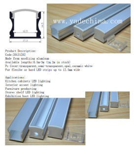 Surface Install Suspended Ceiling Light LED Aluminum Profile pictures & photos