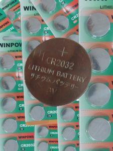 3V Lithium Car Key Button Battery (CR2032) pictures & photos