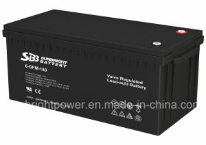 12V180ah High Quality Maintenance Free Deep Cycle SLA Battery pictures & photos