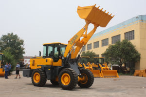 3ton Large Powerful 1.7bucket 2.0bucket Wheel Loader pictures & photos