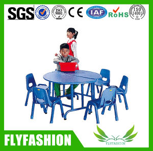 Nursery Furniture Wood Blue Children Table (SF-01C) pictures & photos