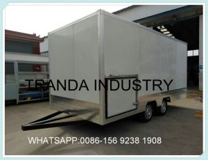 USA Street Vending Carts Trailer Truck Made in Qingdao China pictures & photos
