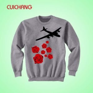 Wholesale Embroidery Cotton/Polyester Sweatshirt Costom Design Sweatshirt Wy-001 pictures & photos