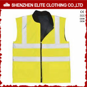 Security Reflective Fluorescent Yellow Safety Vest (ELTHVVI-14) pictures & photos