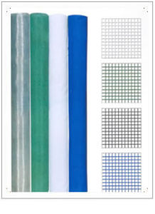 Black, Green, Yellow and Blue Painting Square Wire Mesh pictures & photos