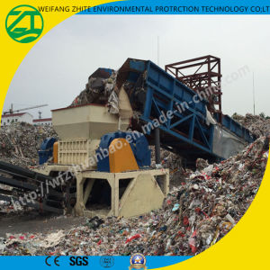 Double-Shaft Solid Used Rubber Tyre Shredder pictures & photos