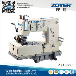 Zoyer Muil-Needle Flat-Bed Kansai Chain Stitch Industrial Sewing Machine (ZY1508P) pictures & photos