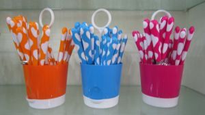 Plastic Handle Cutlery pictures & photos