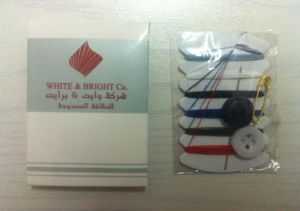 Artcard Box Packing Hotel Sewing Kit (HLSK001)