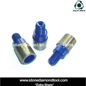 Diamond Drill Core Tools Male Thread Finger Bits Tip pictures & photos