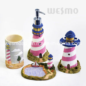 Kids Polyresin Bathroom Set (WBP1078A) pictures & photos