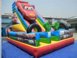 Car Inflatable Jumping Bouncy Slide for Kids (CYFC-430) pictures & photos