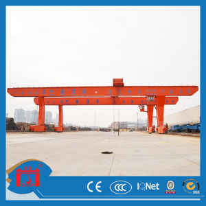 100t Double (Single) Girder Gantry Crane with Ce pictures & photos