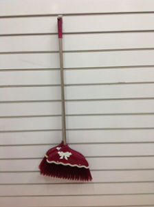 Colorful and Good Quality Plastic Broom (SQ-127) pictures & photos
