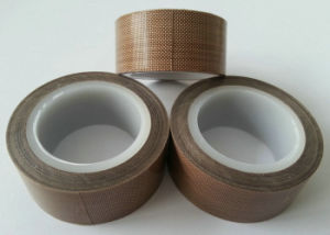 GS and ISO Certificated High Temperature Heat Resistant Silicone Adhesive PTFE Teflon Tape pictures & photos