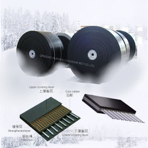 China Supplier Flat Level Steel Cable Belt pictures & photos