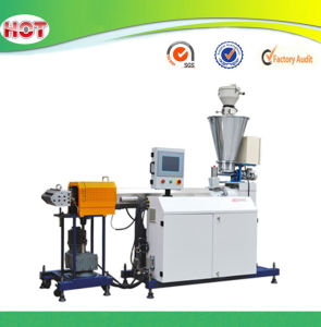 Plastic Lab Laboratory Double Screw Extruder pictures & photos