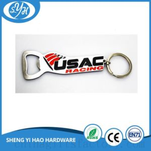 Multifunctions Bottle Opener Metal Key Chain with Printing Logo pictures & photos