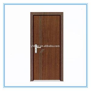Cheap PVC Wooden Door pictures & photos