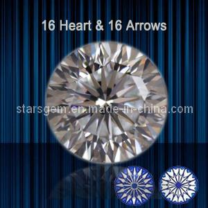 16 Hearts & 16 Arrows Brilliant Cut Cubic Zirconia pictures & photos