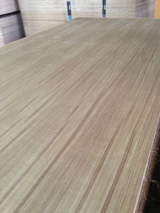 AAA AA Grade Natural Teak Plywood for Furniture (1220X2440mm) pictures & photos