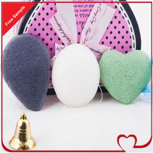 Konjac Fibre Sponge Cellulose Facial Cleansing Sponge pictures & photos
