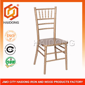 Gold Wood Chairs Chiavari Chair for Banquet pictures & photos