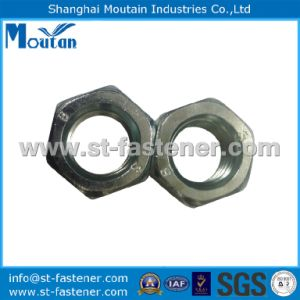 Carbon Steel Zinc Plated DIN934 Hex Nuts