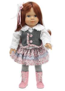 "18"" Cloth Body Girl Doll Long Hair Doll Custom Doll"