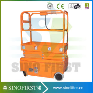 3m 4m Mobile Mini Scissor Lift pictures & photos