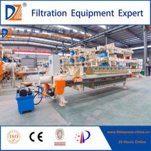 Dazhang Automatic Membrane Filter Press with Hydraulic System pictures & photos