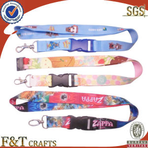 High Quality Custom Christmas Printed Polyester Lanyard with ID Clip pictures & photos
