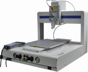 3 Axis Solder Paste Glue Dotting Dispensing Machine with Valve (jt-3441) pictures & photos