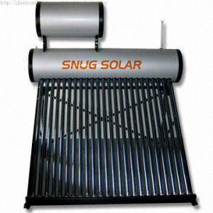 Compact Solar Water Heater System with Big Assistant Water Tank pictures & photos