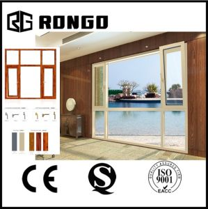 Rongo Modern Design Aluminum Window with Optional Texture pictures & photos