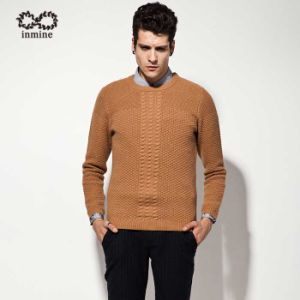 ODM Men Fashion Clothing Cable Knit Sweater Garment pictures & photos