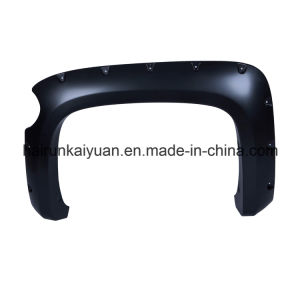4PCS Pocket Riveted Fender Flare Fit 07-12 Chevrolet Silverado Short Bed pictures & photos