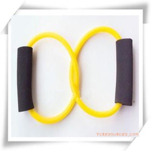Double-Circle TPR Chest Expander/Resistance Tubing for Promotion pictures & photos
