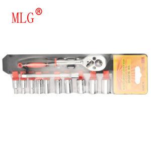 12PCS 1/4 Sleeve Wrench Set on Plastic Holder (6607B)