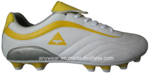 Soccer Football Boots with TPU Outsole for Men Shoes (815-1202) pictures & photos