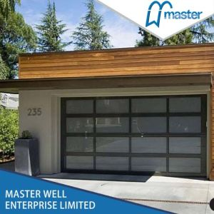 Aluminum and Glass Garage Automated Door pictures & photos