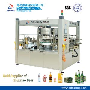 Dl18-8-6 Full Automatic Rotary Cold Glue Labeling Machine