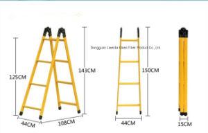 Composite FRP Ladder/Building Material/Fiberglass Ladder/Aisle Ladder pictures & photos