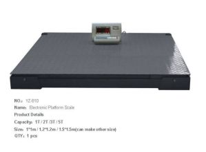 Floor Scale 1.2*1.2M 4T pictures & photos