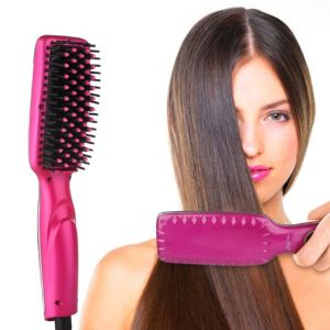 Factory Wholesale Brush Hair Straightener pictures & photos