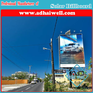 Green Power Solar System for Advertising Billboard pictures & photos