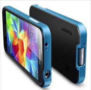 Popular Korean Design Neo Hybrid Slim Hard TPU+PC Case for Galaxy S5