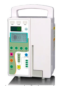 High Quality Infusion Pump with Library with CE and ISO pictures & photos