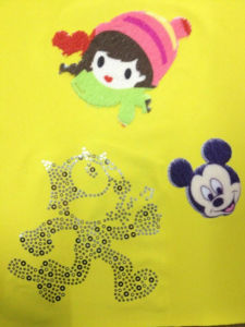Heat Transfer Printing Laser Effect for Garment Accessories